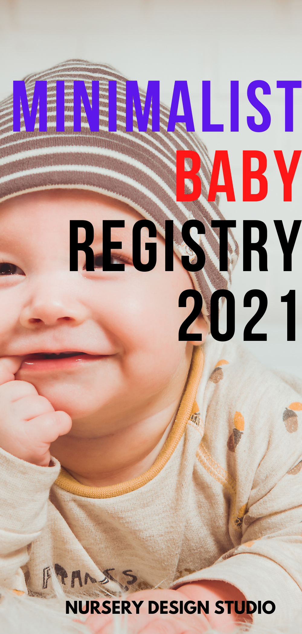 MINIMALIST BABY REGISTRY