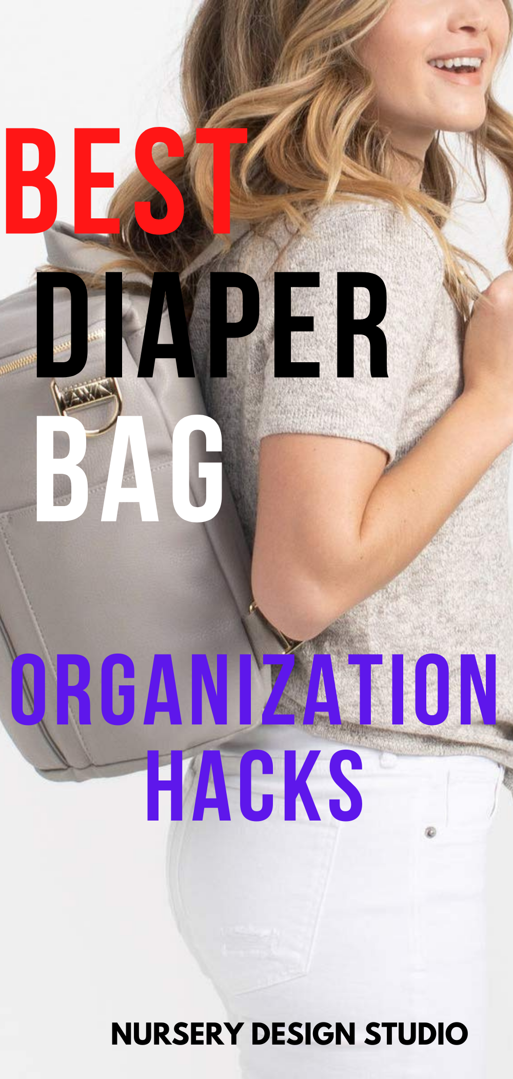 diaper bag organization hacks