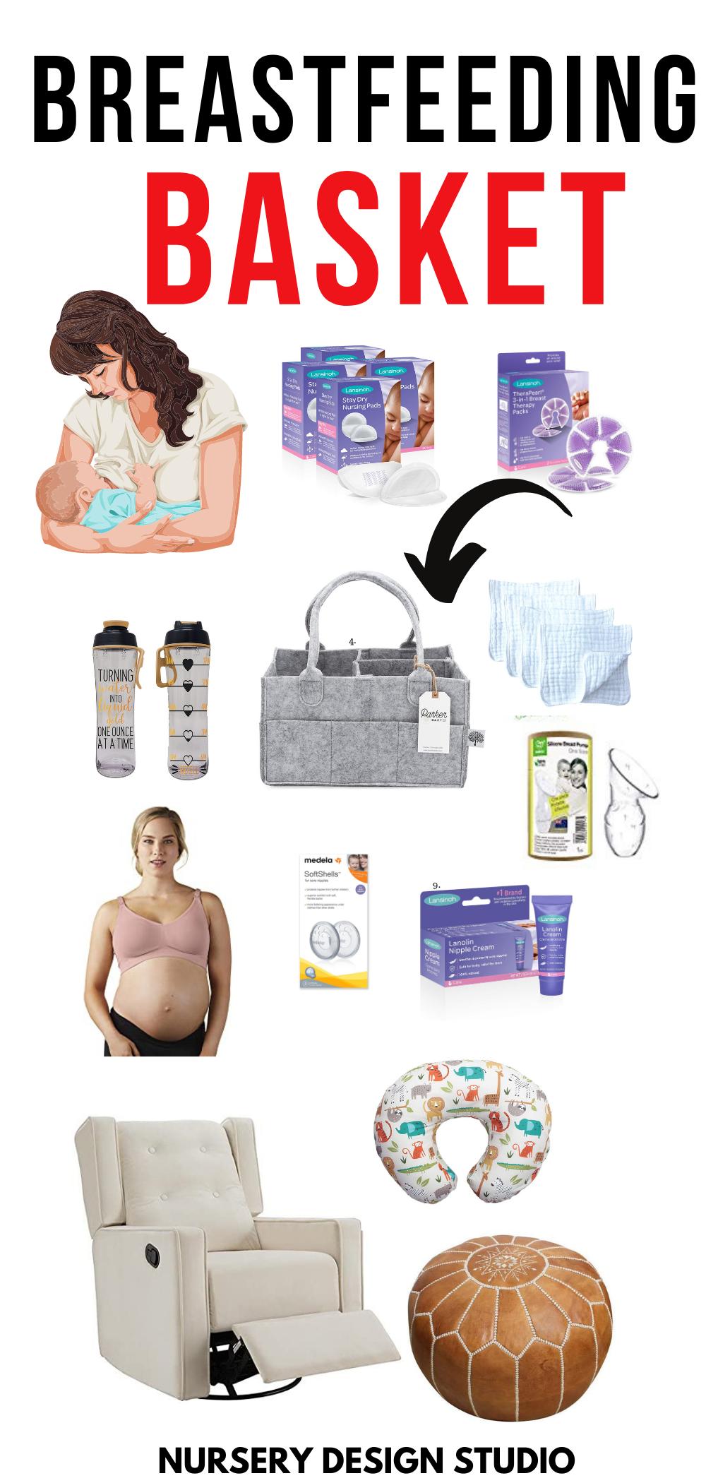 breastfeeding basket