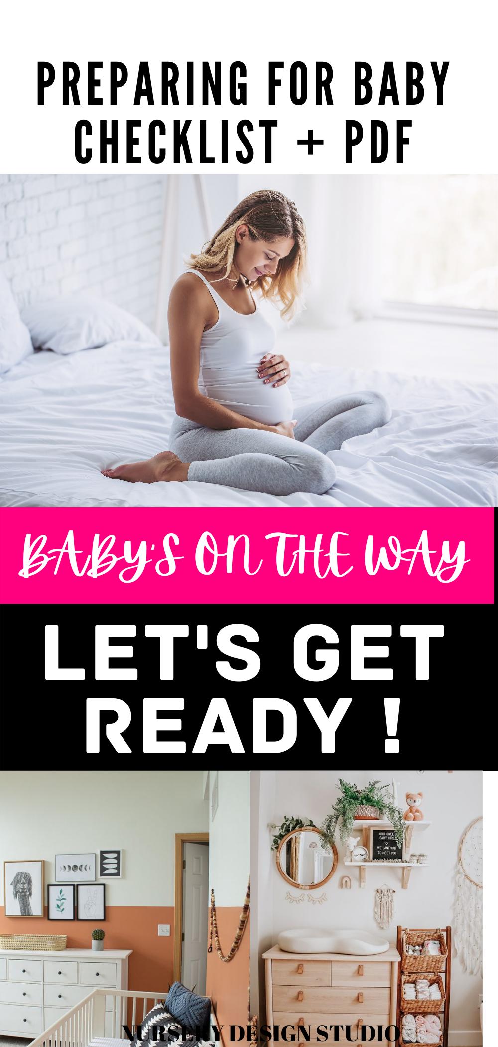preparing for baby  checklist
