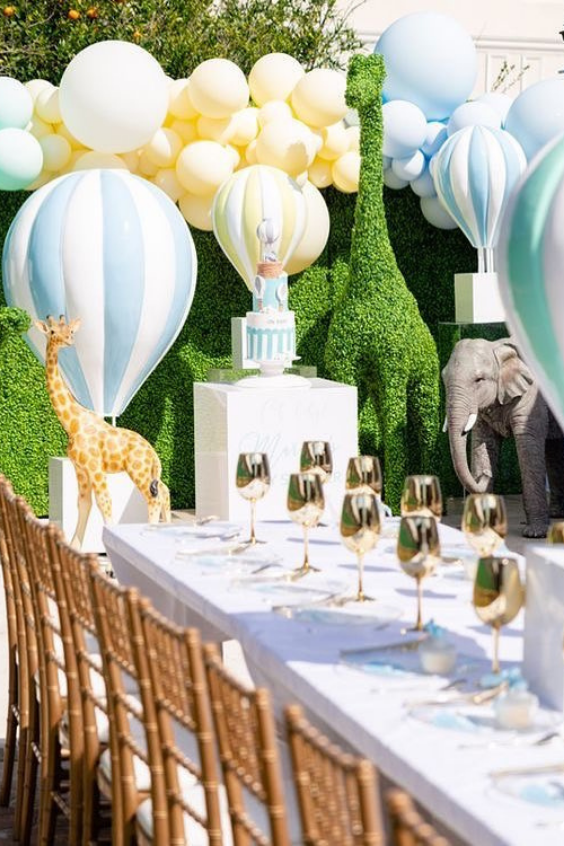 spring baby shower ideas
