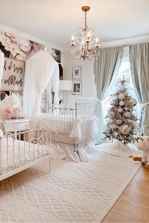nursery idea for a girls room
