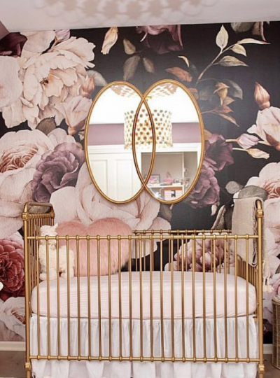 girls nursery idea