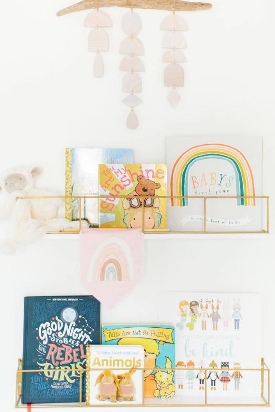 nursery storage book