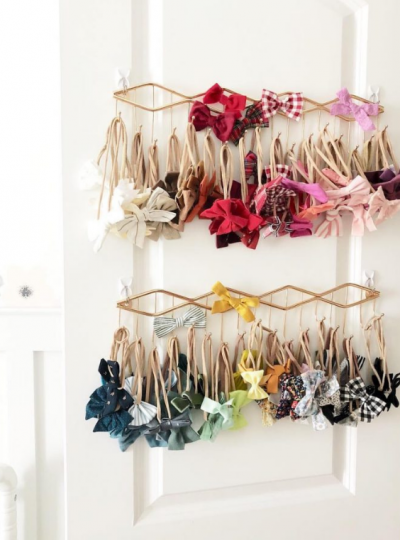 nursery storage hair accessories