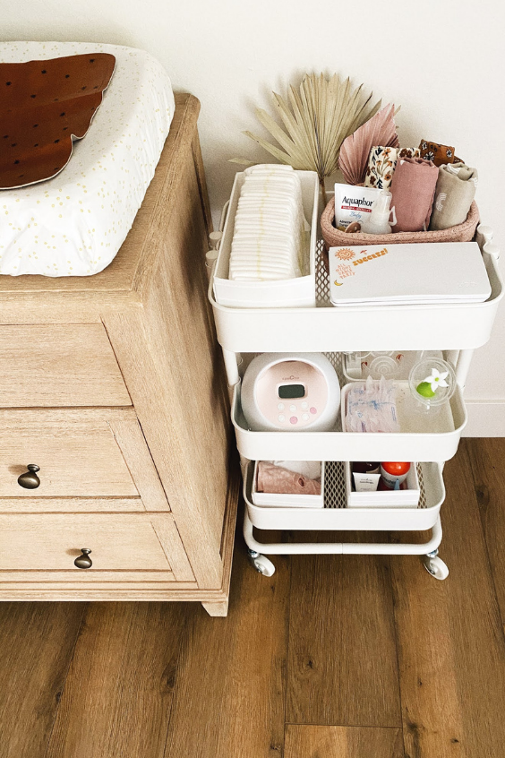 baby room organization hacks