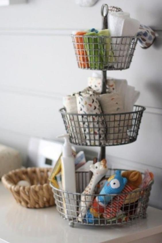 baby room organizing ideas