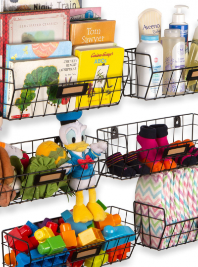 dollar store organization hacks for the nursery
