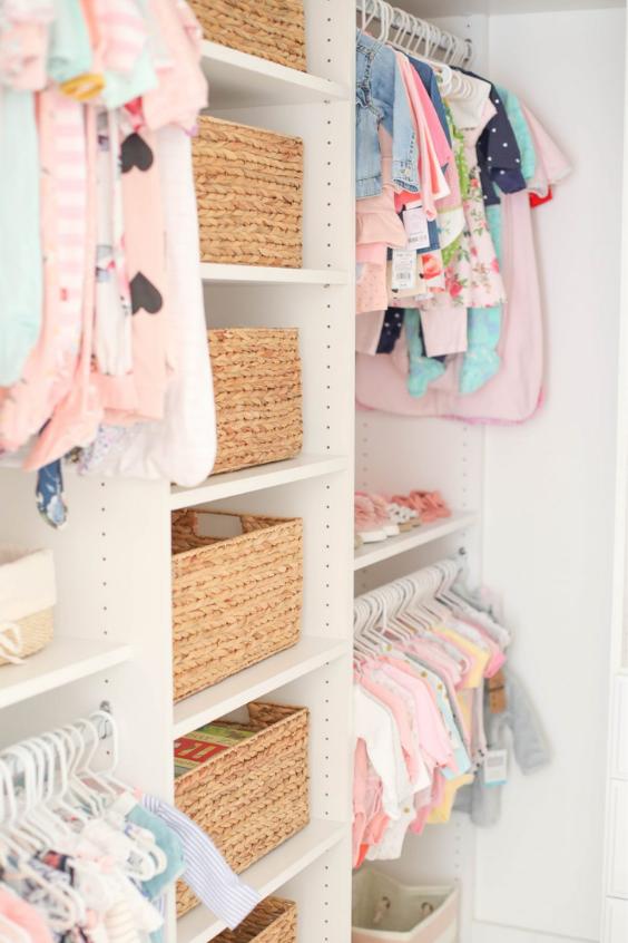 organize babys clothes
