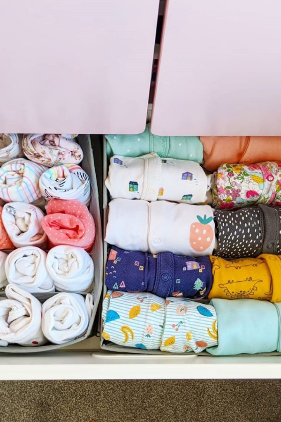 ORGANIZE BABY CLOTHES