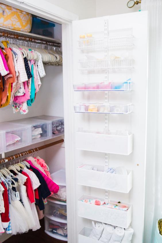 organizing the nursery