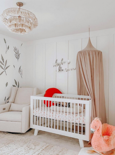 small baby room organization