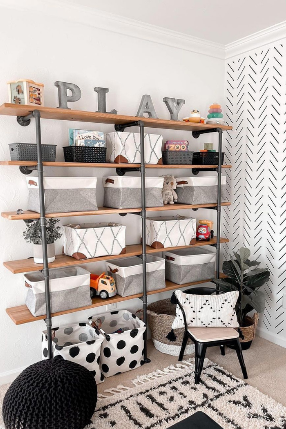 organizing baby's room
