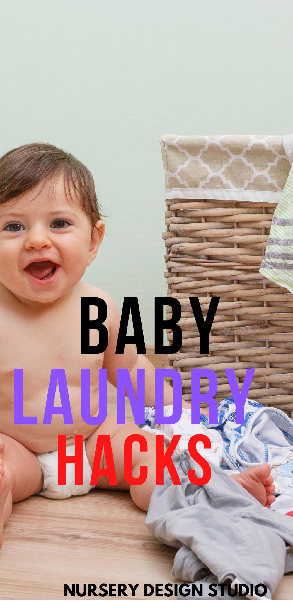 BABY LAUNDRY HACKS