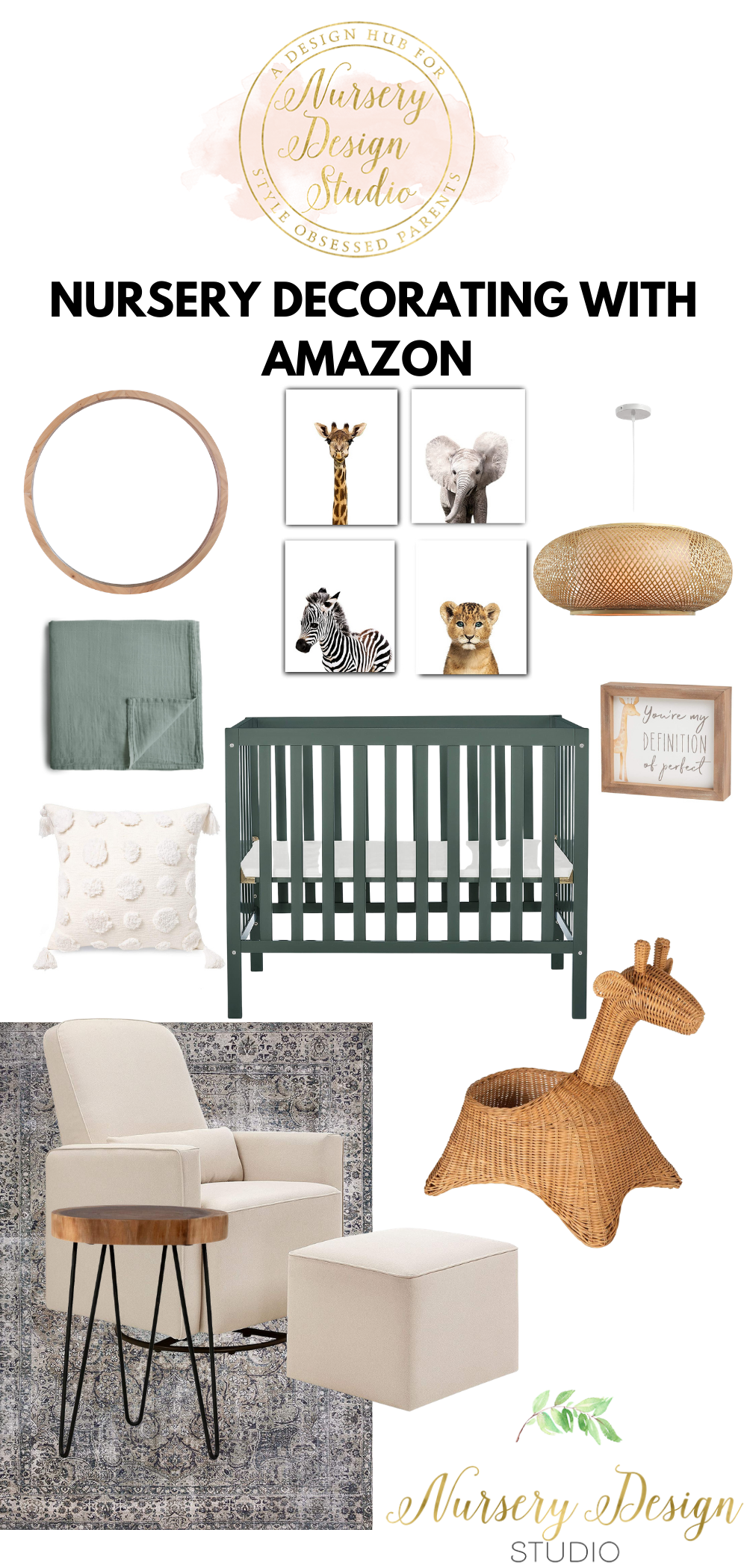 nursery decorating ideas with amazon products