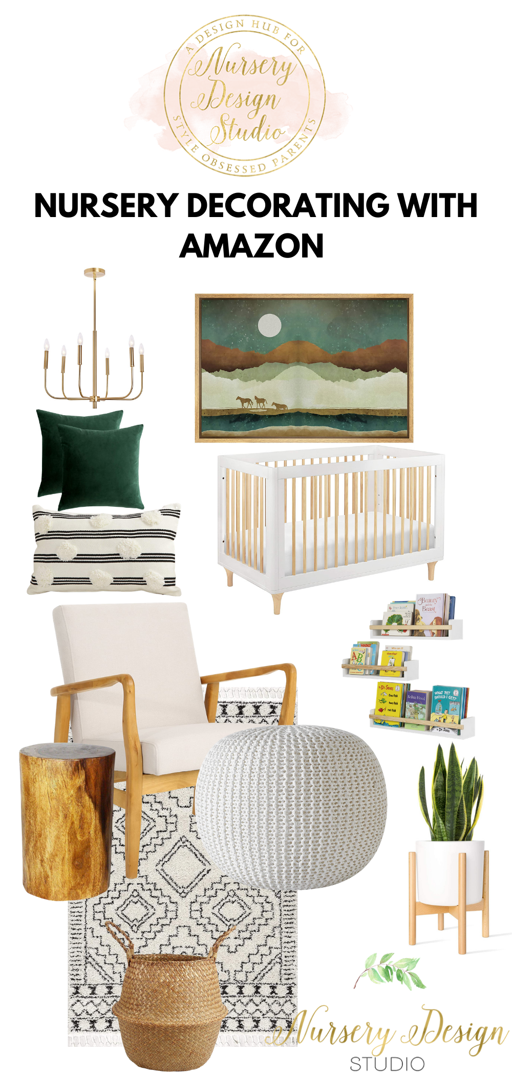 nursery design ideas with products from amazon