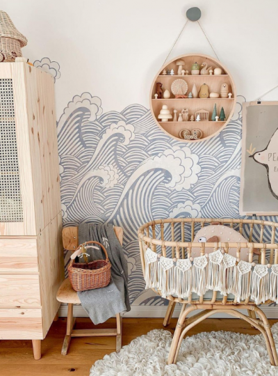 beach inspired nursery