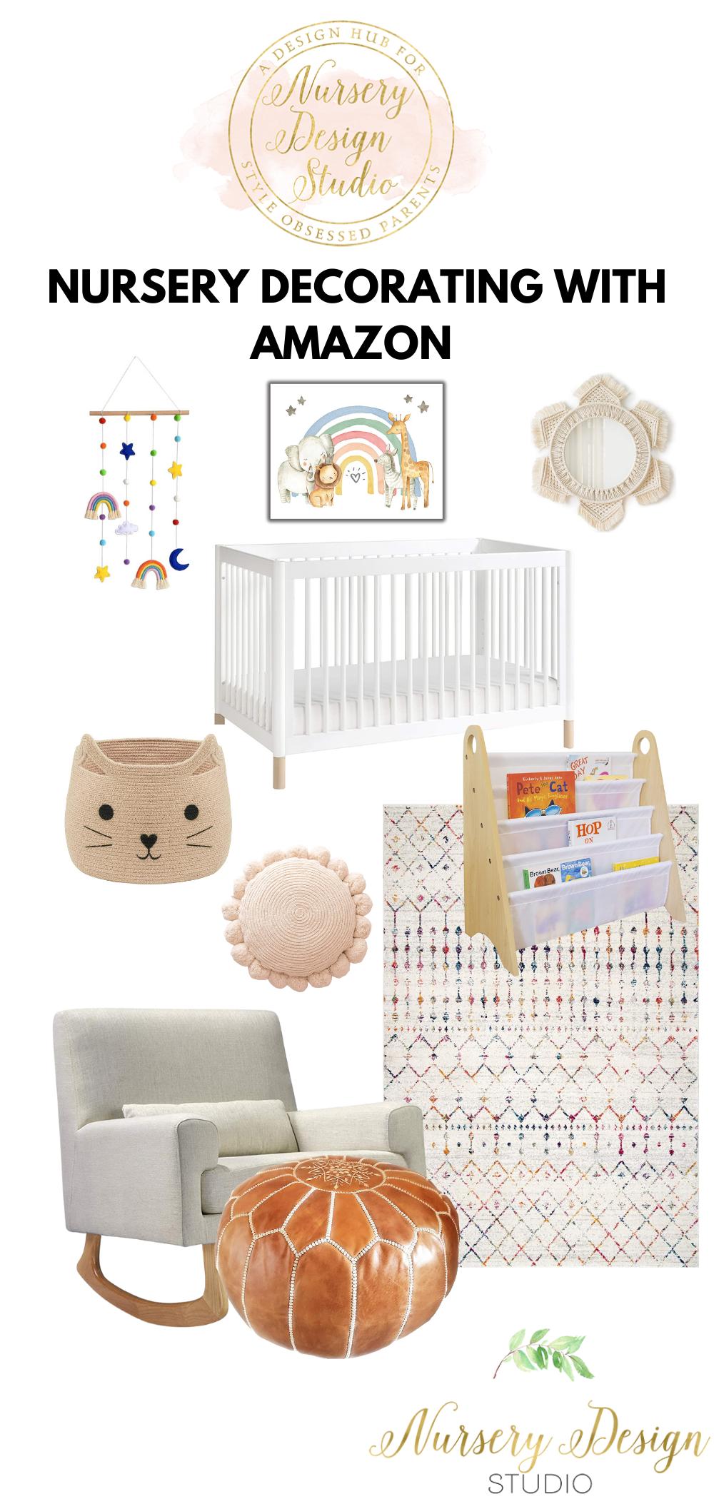 nursery decorating with amazon