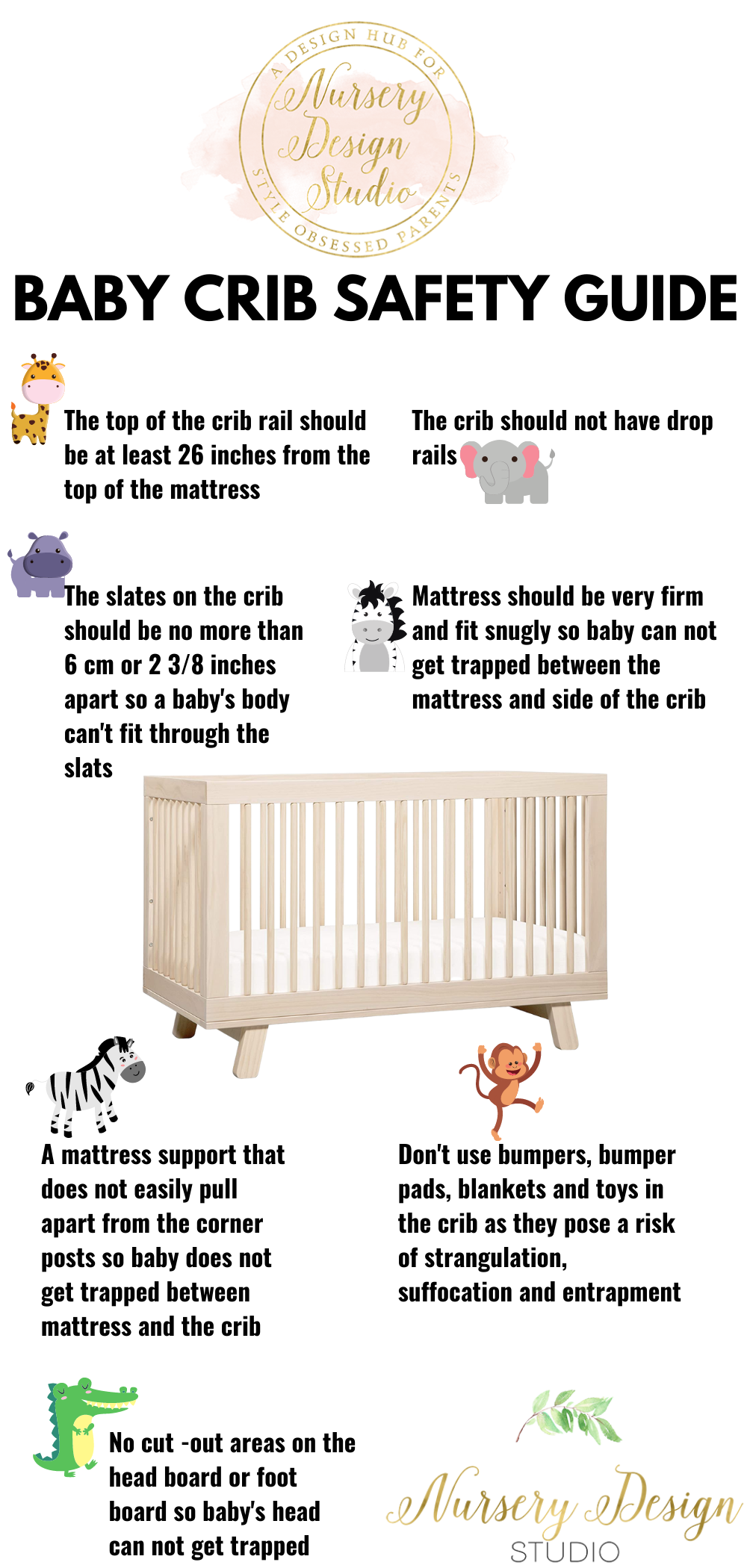 BABY CRIB SAFETY GUIDE