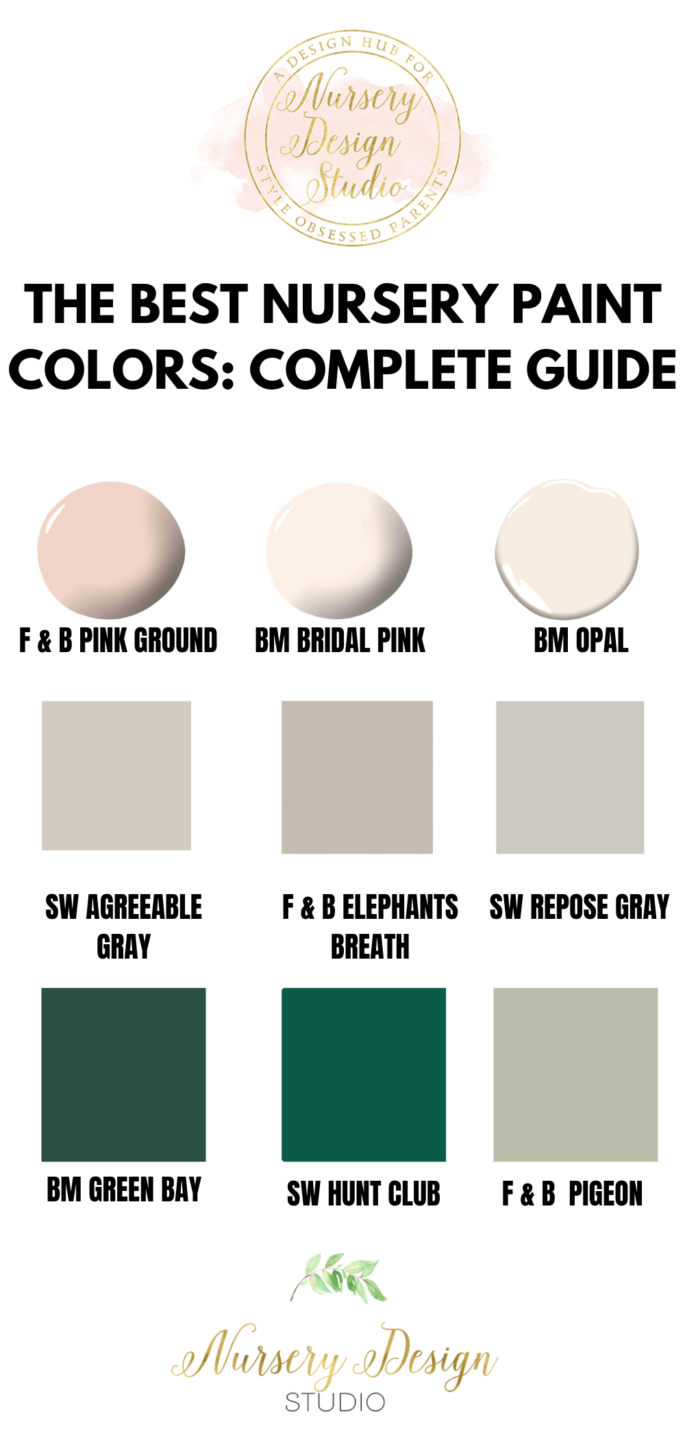 THE BEST NURSERY PAINT COLORS: COMPLETE GUIDE