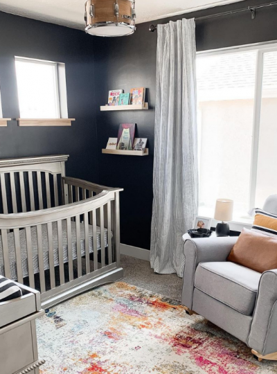 best black paint colors for the nursery