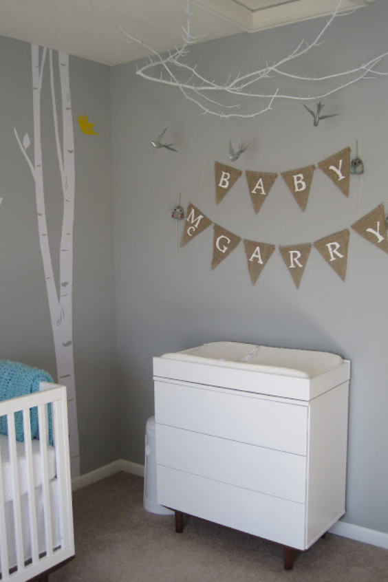 best gray paint colors for the nursery