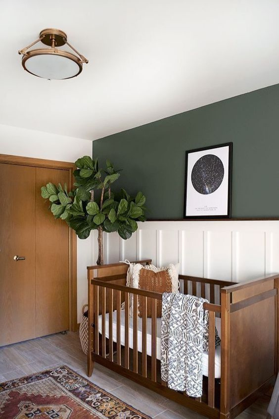 earth tone nursery color ideas
