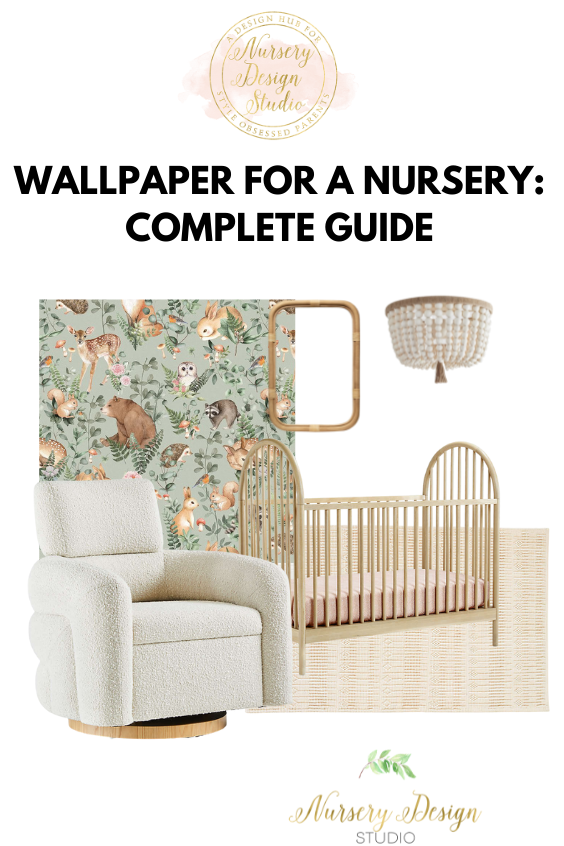 wallpaper for a nursery: complete guide