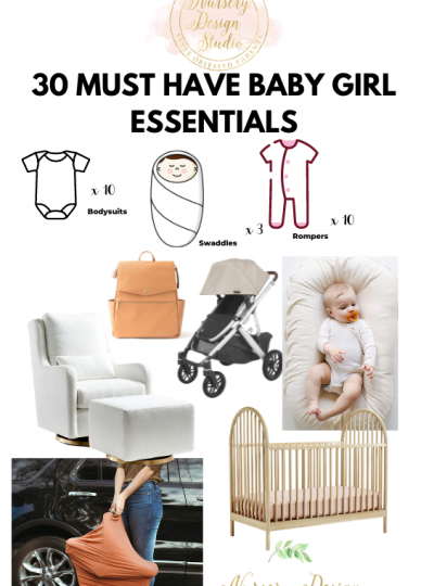 30 must have baby girl essentials