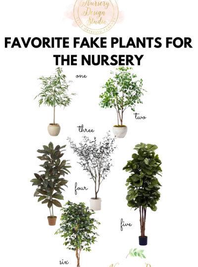 best fake plants for the baby nursery