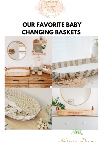 top baby changing baskets