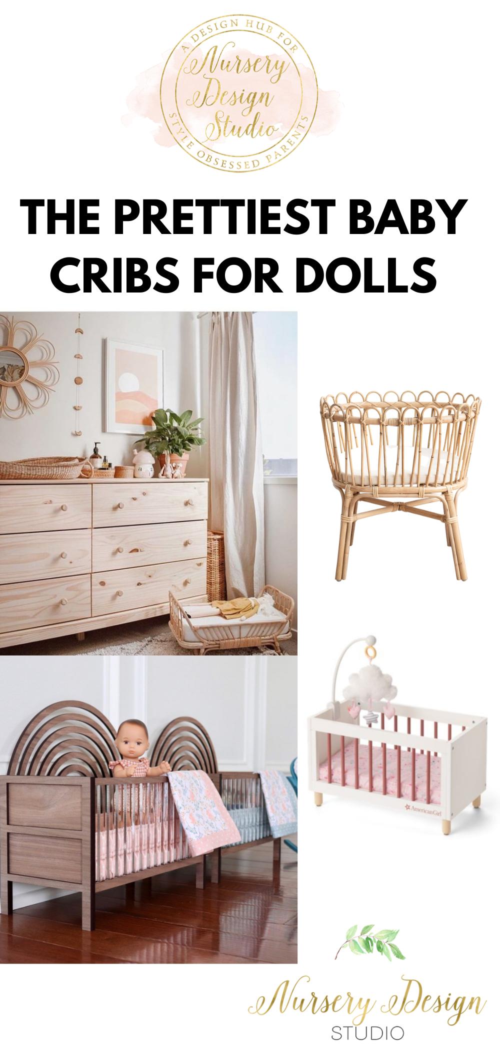 BABY CRIBS FIR DOLLS