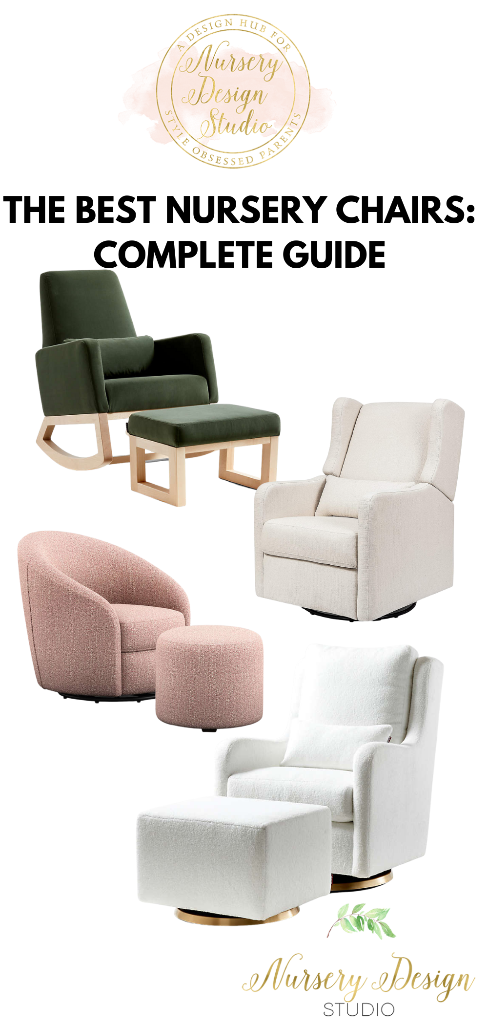THE BEST NURSERY CHAIRS : COMPLETE GUIDE