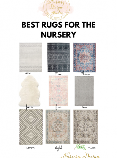 best rugs for the nursery