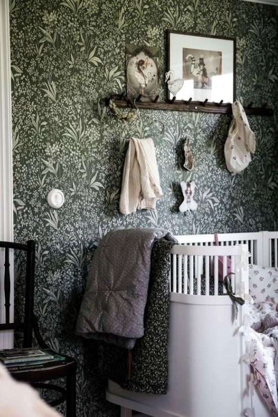 bold and moody nursery ideas