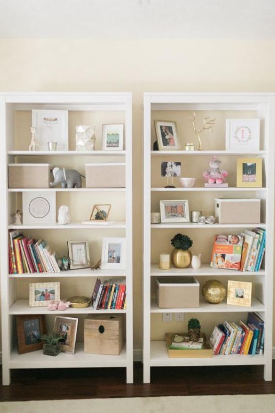 nursery bookshelves ideas