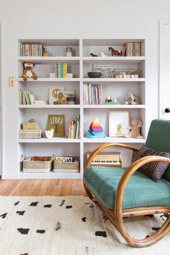 nursery bookshelf ideas
