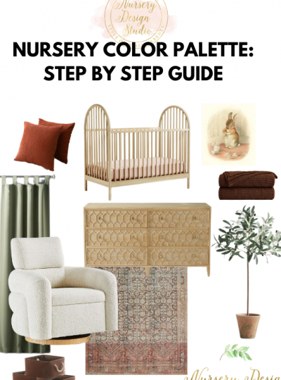 how to create a nursery color palette