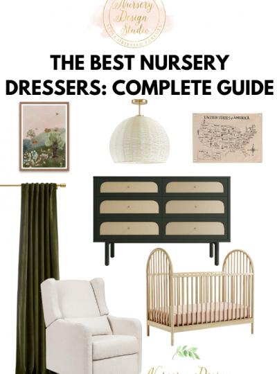 the best nursery dressers